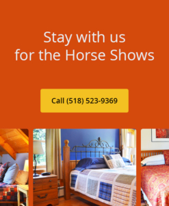 Stay with Us for the Lake Placid Horse Shows