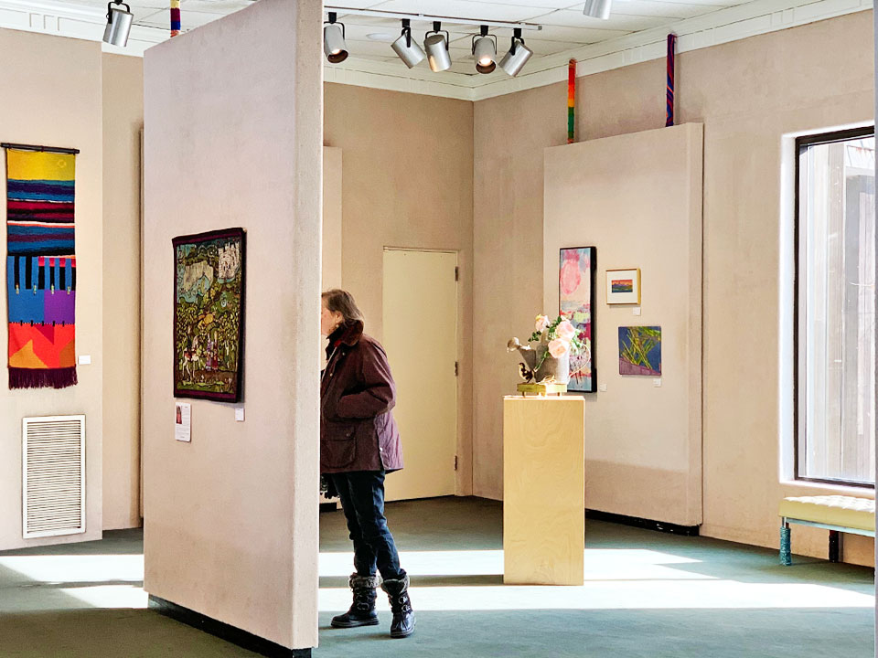 Fiber Art Show at the LPCA