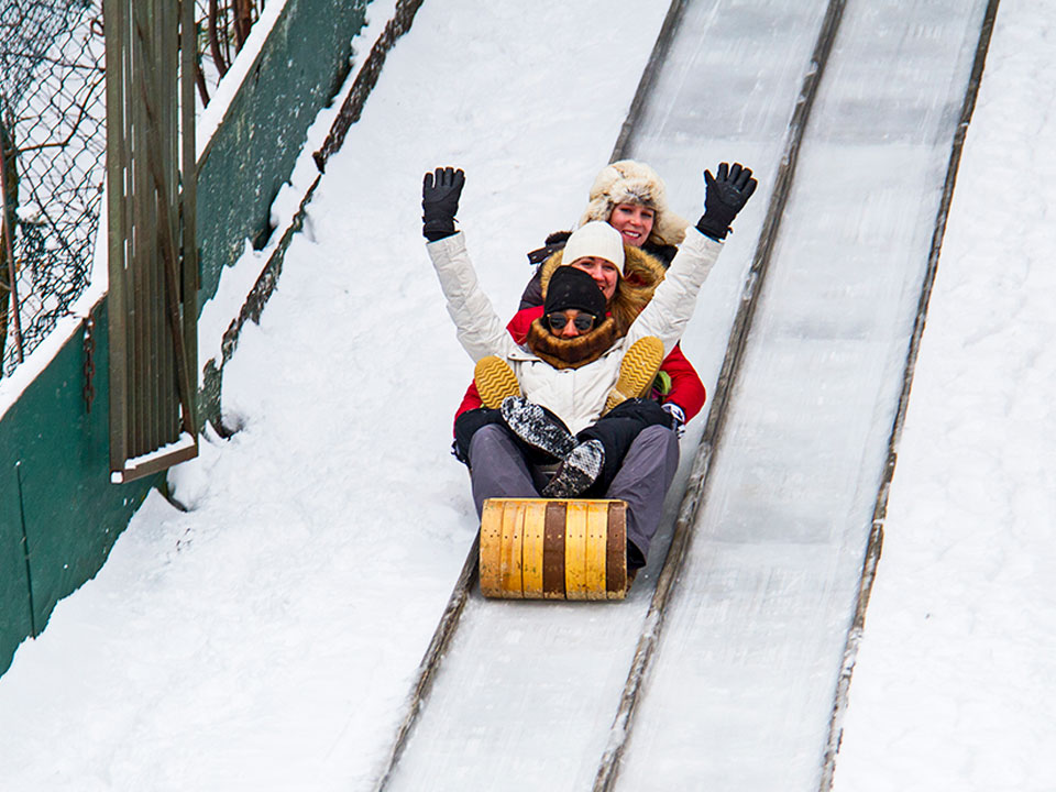 Lake Placid Toboggan Slide - Lake Placid